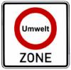 Eingang Umweltzone Erfurt